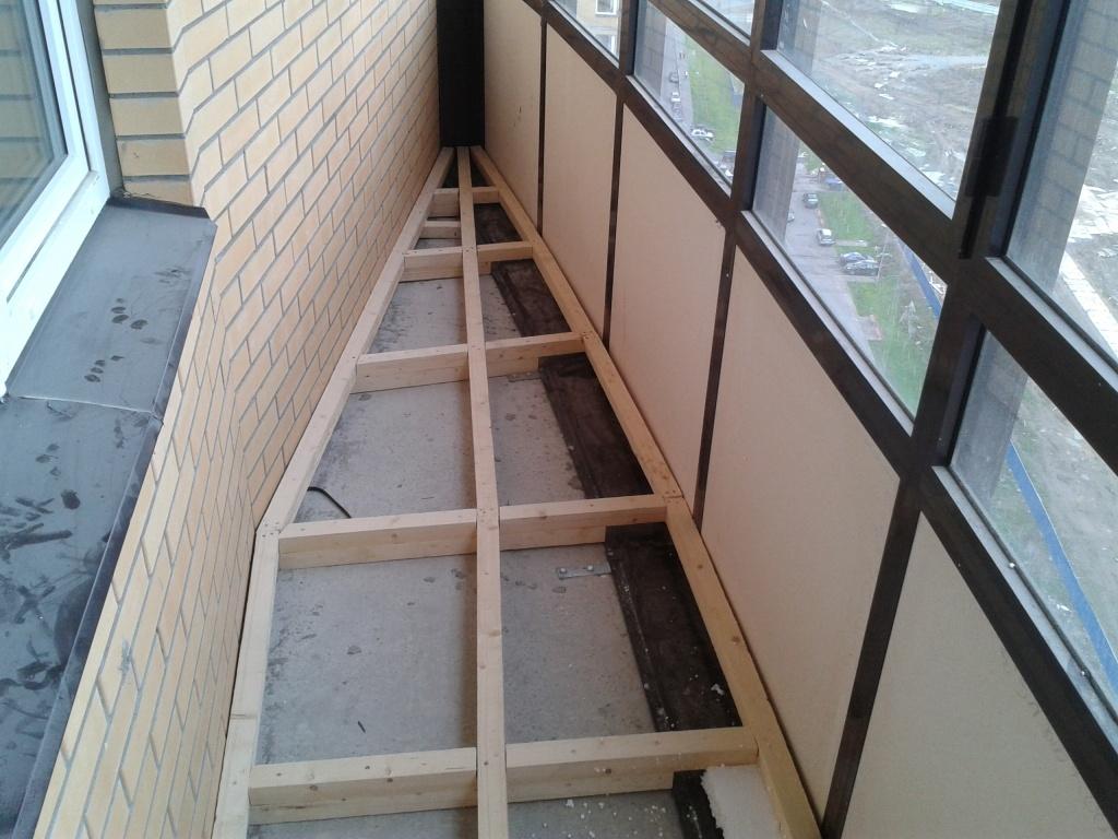 Утепляем пол на лоджии/балконе. - мастерская - руки из плеч.